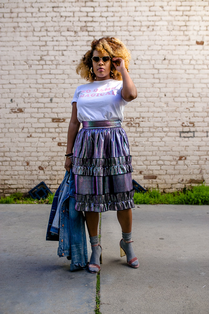Lifestyle blogger Hautemommie wears ASOS, Daisy Natives, and Steve Madden