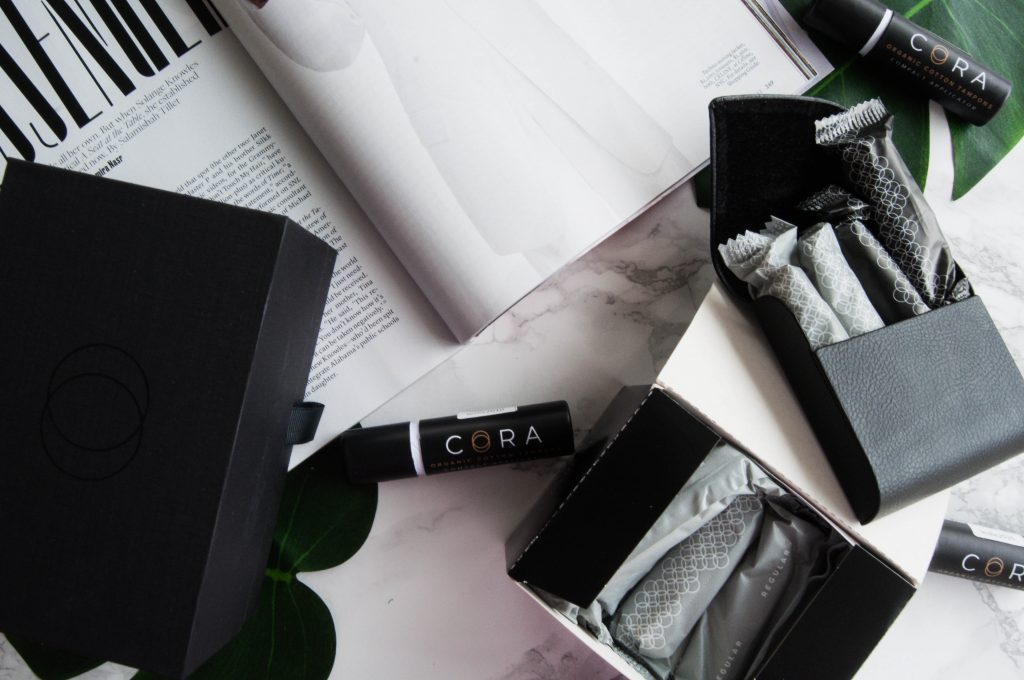 Pretty packaging from Cora woman plus a social cause Hautemommie can get behind.