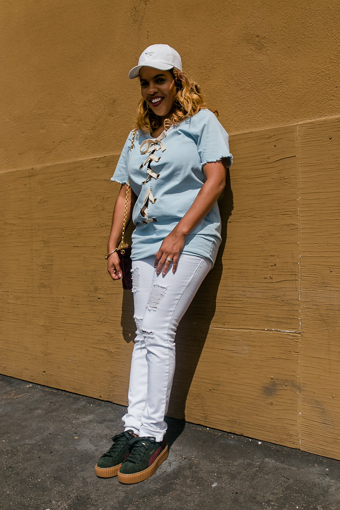 Hautemommie wears her favorite sneakers and talks about how shoes made her who she is.