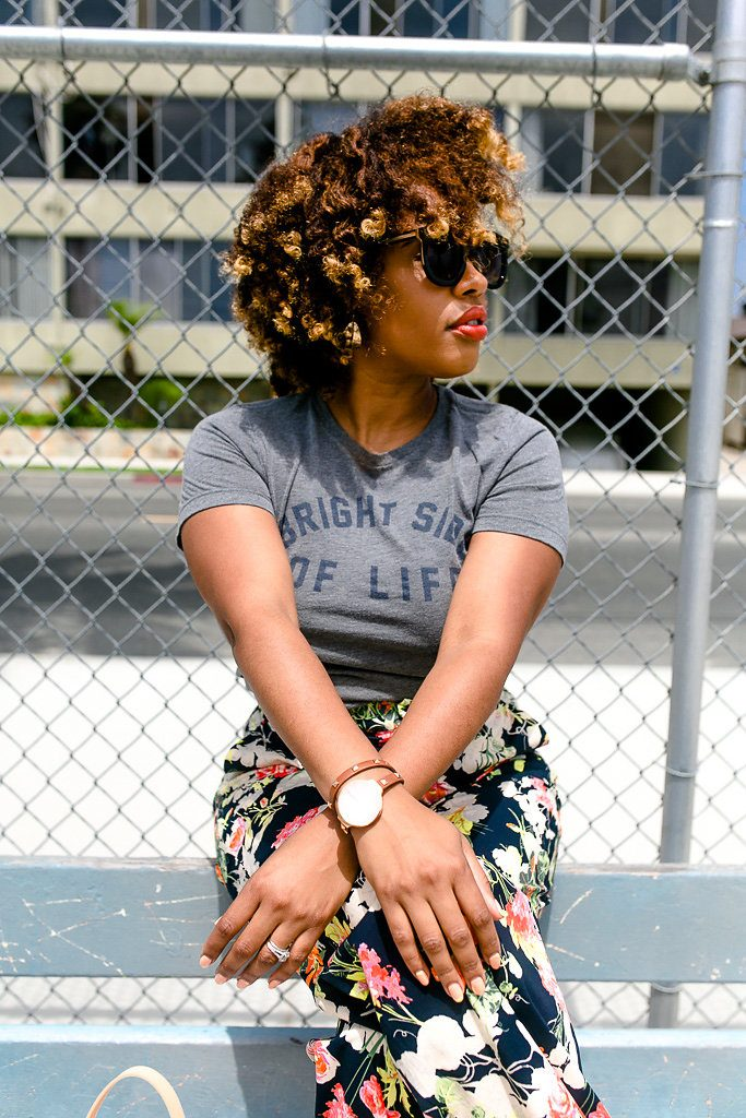 The Hautemommie - Natural Hair with an element of chic