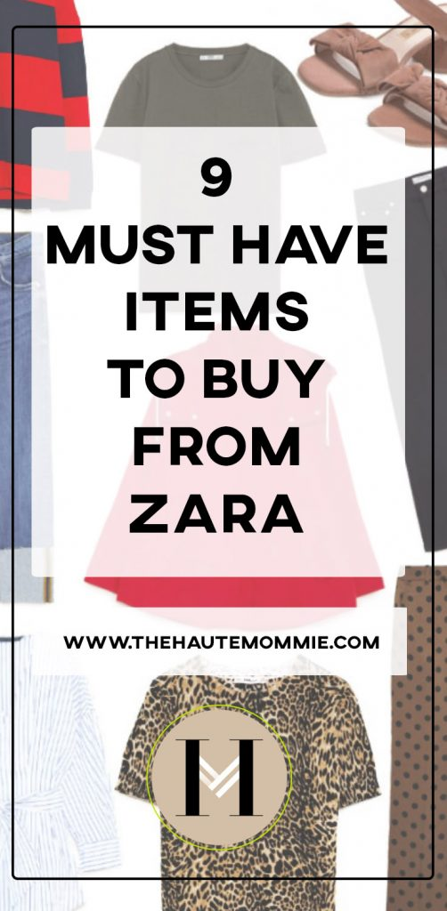 9 Must Have Items To Buy From Zara Sale