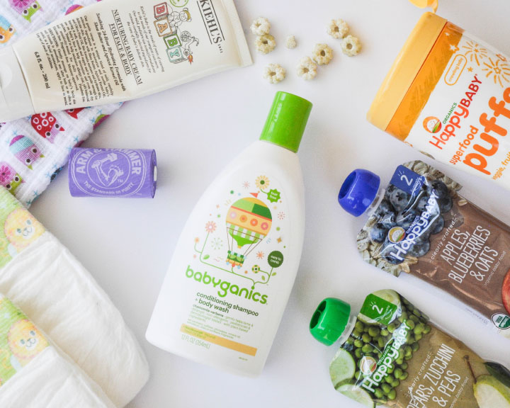 Babyganics, Happy Baby, and Kiehl's! | https://thehautemommie.com/july-baby-favorites/