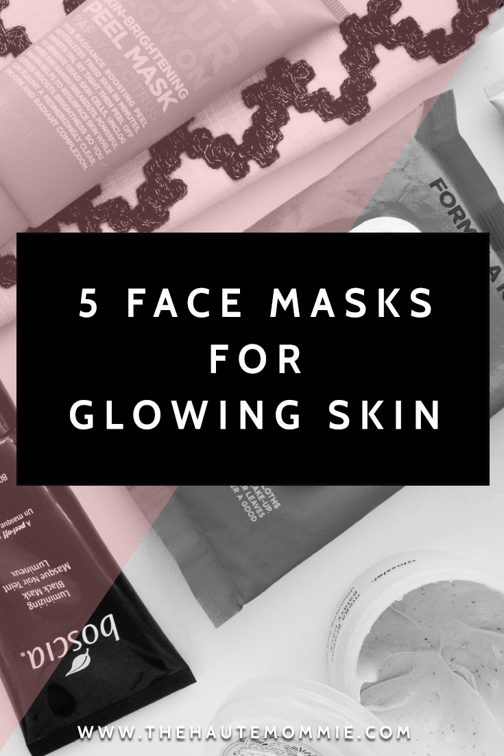 PINTEREST - 5 FACE MASKS