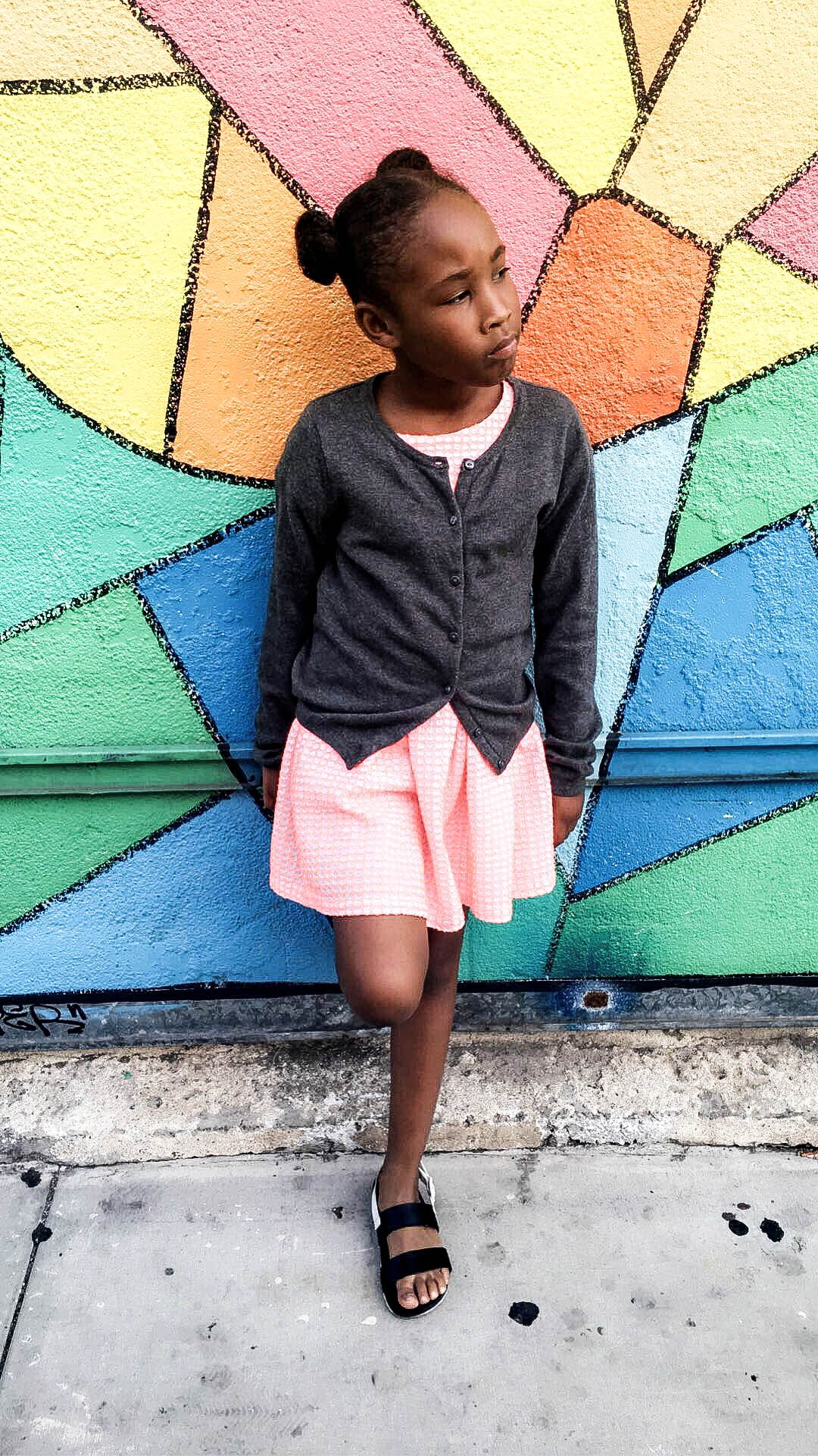 Lil D Poses | https://thehautemommie.com/weekend-recap/