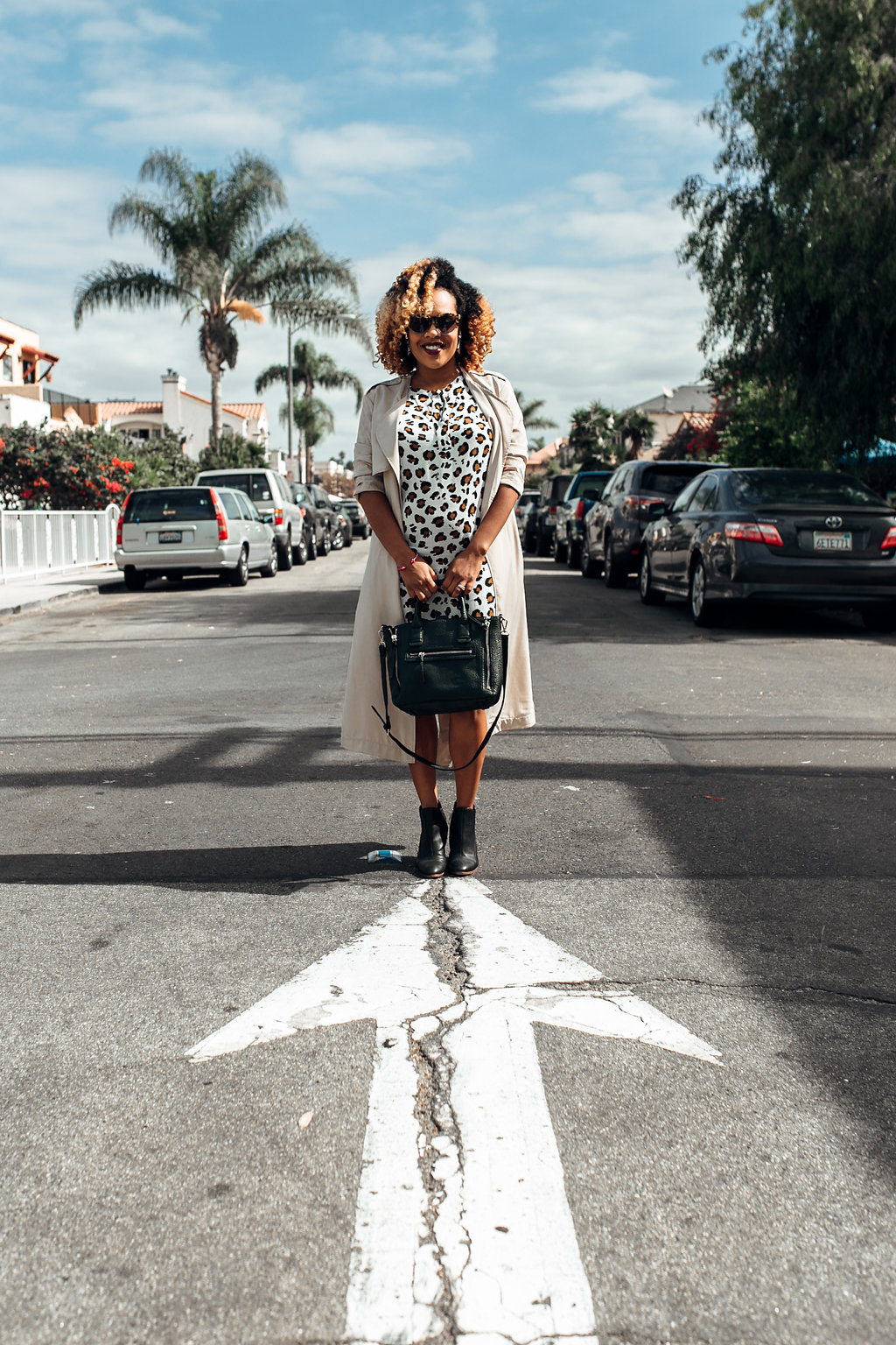 Street Style - H&M, Mango, Nordstrom Rack | https://thehautemommie.com/transitional-pieces/