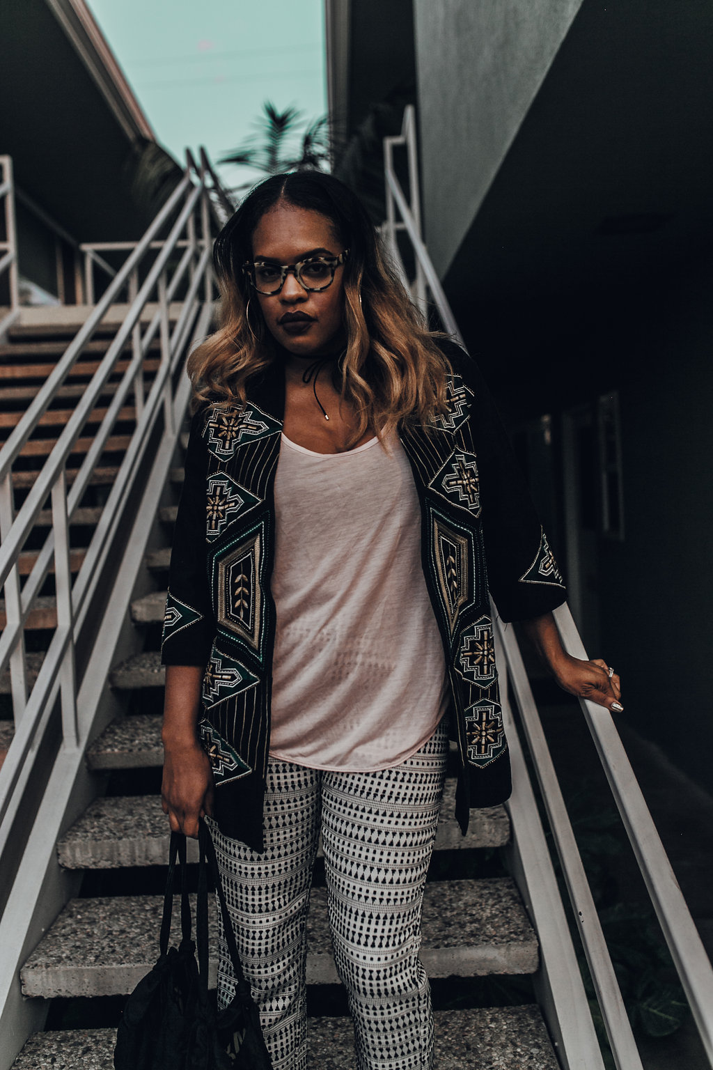 Mixing Prints For Perfect Fall Outfits // https://thehautemommie.com/kimonos-mixed-prints/
