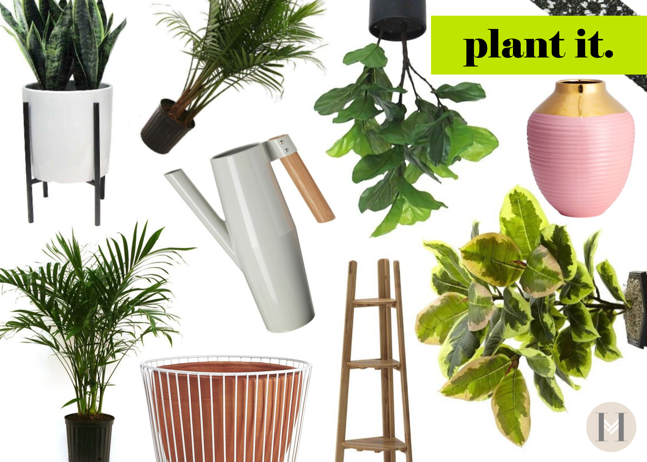 Hautemommie says, add plants to your home to bring nature in this spring