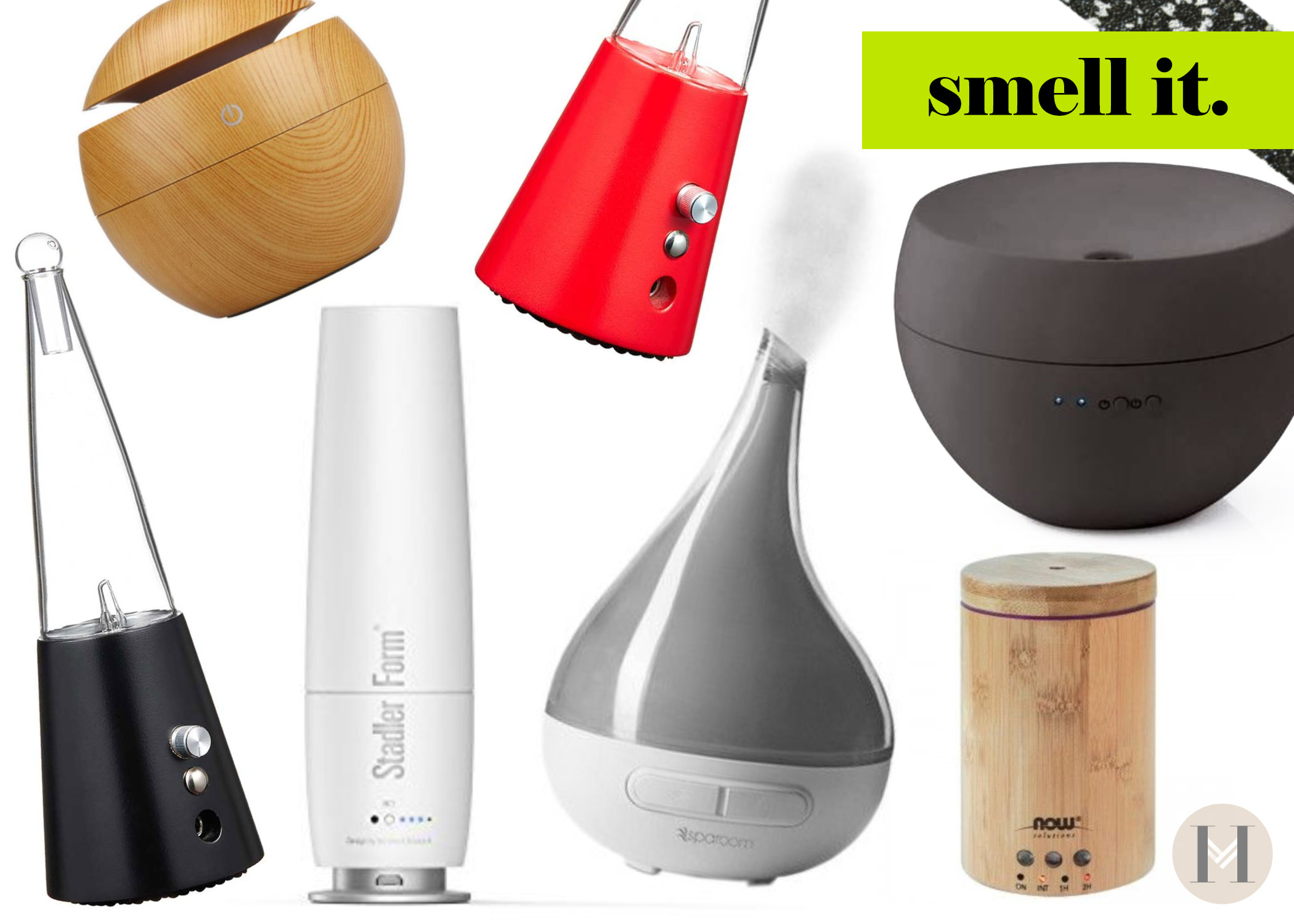 Scents help create a freshness for your house. Try oil diffusers Hautemommie writes.