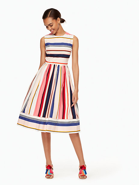 berber-stripe-fit-and-flare-dress-Kate-Spade-New-York
