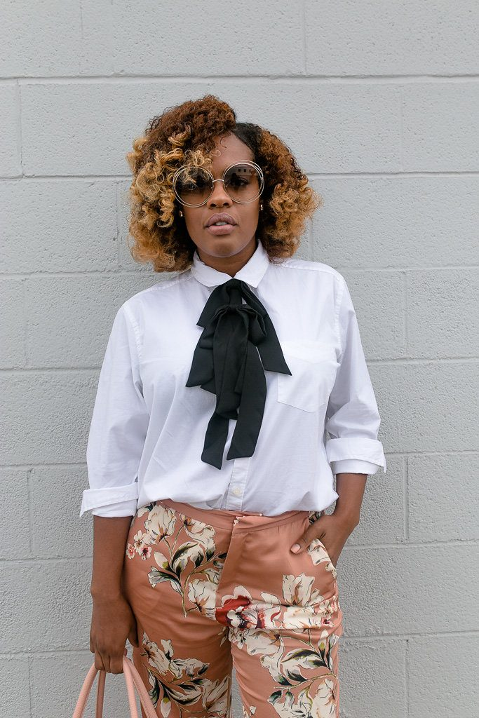 Ties aren't just for the boys - Hautemommie shows how to style one for ladies!