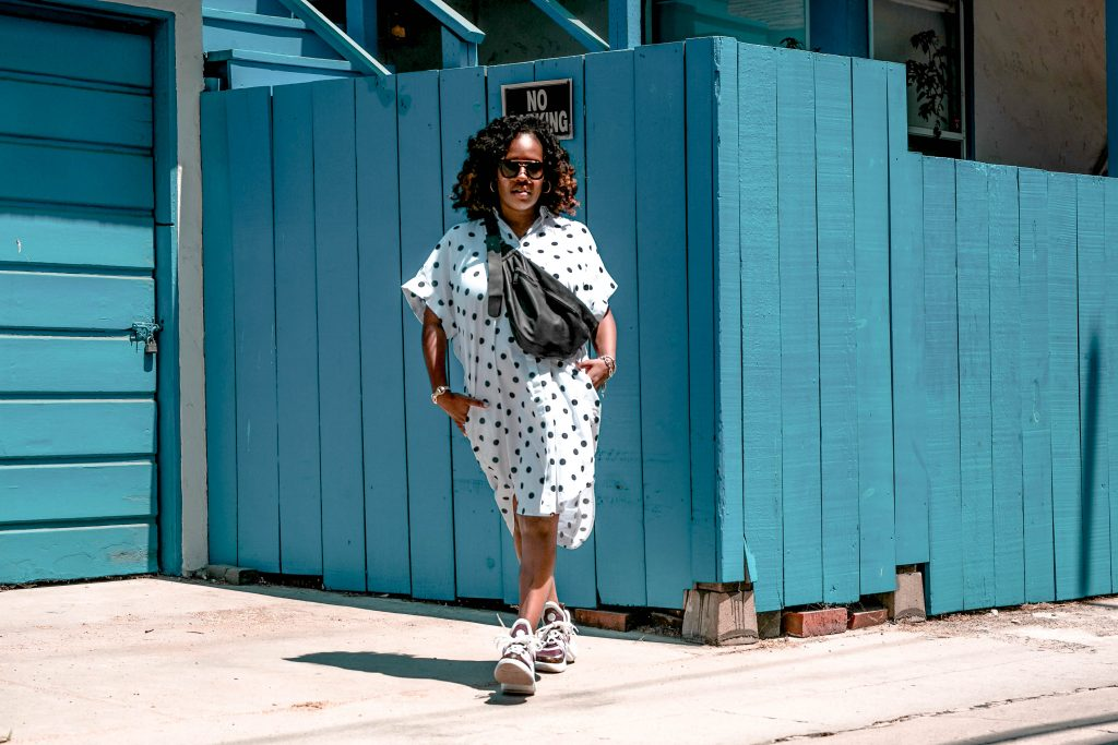 fashion blog, style blogger, trendsetting, LA blogger, polka dot