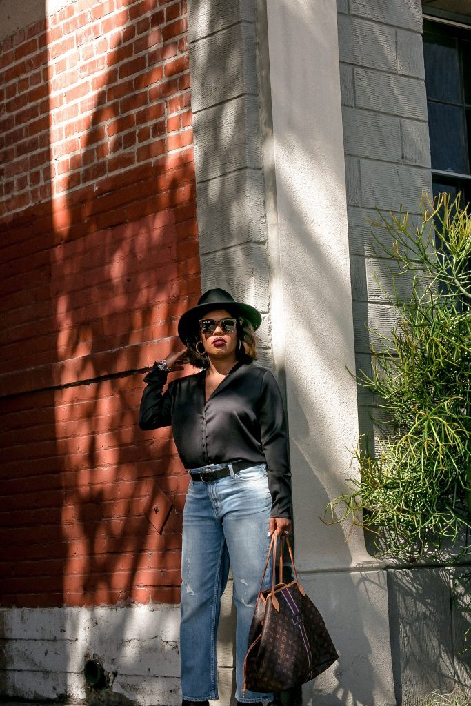 Make jeans and a t-shirt shine after Hautemommie shows you how to elevate your basics