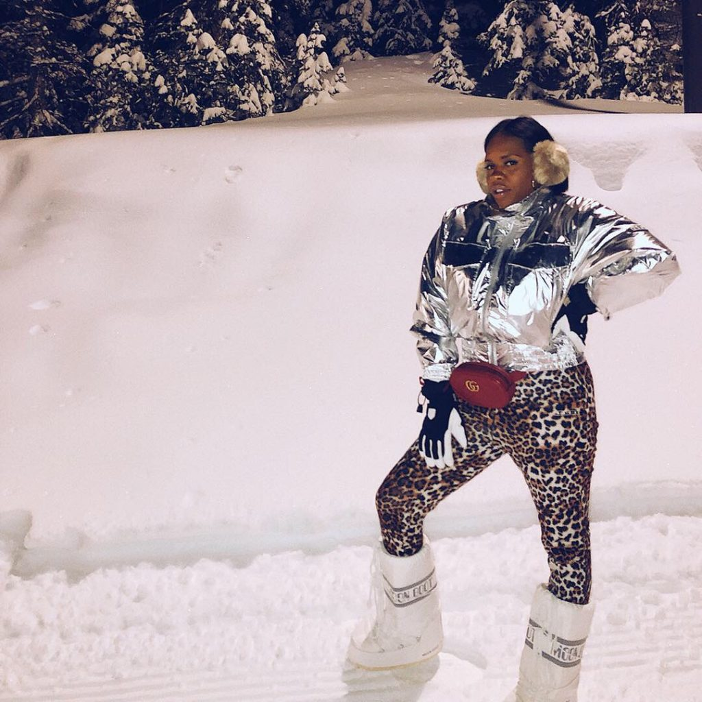 Hautemommie takes a trip to Aspen, check out how she spent four days in snowman's land!