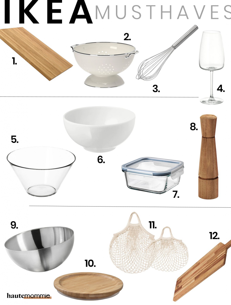 Hautemommie shares her 12 must have kitchen items from IKEA